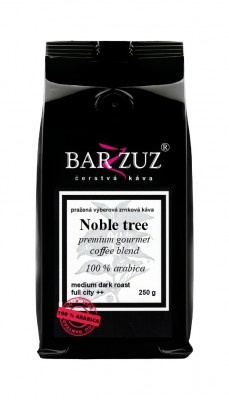 Noble Tree blend, pražená káva, 100 % arabika, 250 g